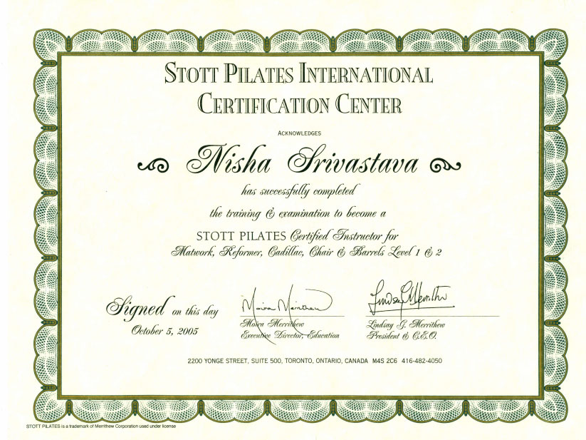 STOTT Pilates International